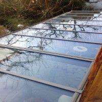 Sonnenschutz bei Dachverglasung