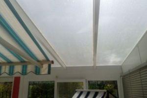 Terrassenüberdachung Doppelstegplatten